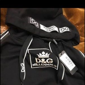 Dolce & gabbana hoodie medium size